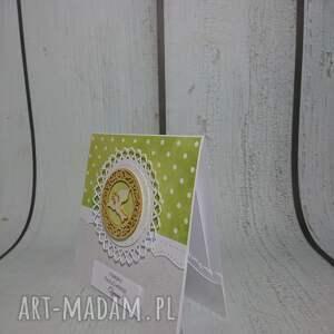 białe scrapbooking kartki chrzest zaproszenie / kartka gołąbek vs
