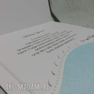 frapujące scrapbooking kartki chrzest zaproszenie / kartka ze słoniątkiem