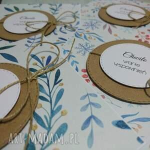 handmade scrapbooking kartki osiemnastka zaproszenie / kartka minimalna