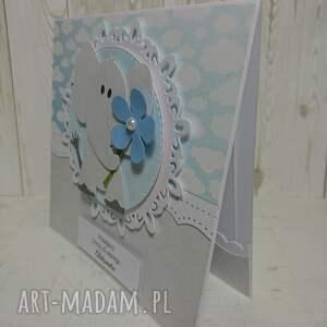 białe scrapbooking kartki urodziny zaproszenie / kartka z głową w