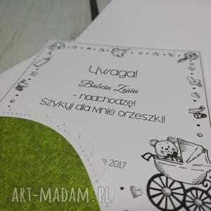 zielone scrapbooking kartki wiewiórka zaproszenie / kartka z wiewiórką