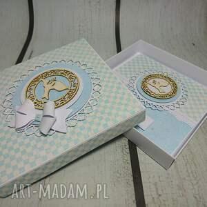 komunia scrapbooking kartki zestaw elegancki z dużym wyborem