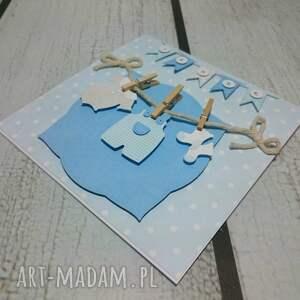 pamiatka scrapbooking kartki zestaw maluszkowe ubranka (w