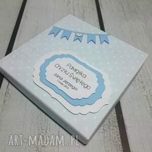 efektowne scrapbooking kartki pudełko zestaw maluszkowe ubranka (w