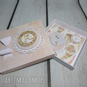 białe scrapbooking kartki balonik zestaw słonik w piórach