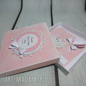 wyjątkowa scrapbooking kartki różowe zestaw słonik z balonem