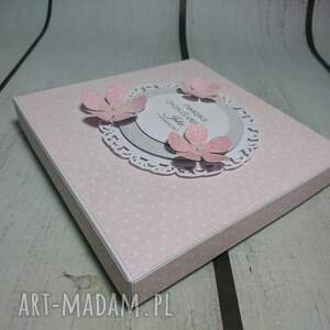 szare scrapbooking kartki urodziny zestaw słonik w kwiatach