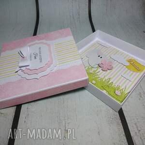 szare scrapbooking kartki pamiątka zestaw ze słonikiem na