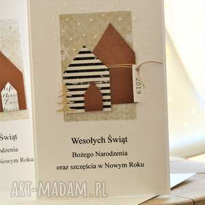 na święta upominek świąteczna zetaw 2 kartek świątecznych