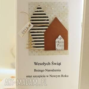na święta upominek zetaw 2 kartek świątecznych