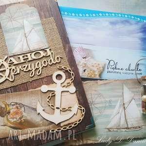 brązowe scrapbooking notesy pamiętnik dziennik / podróży