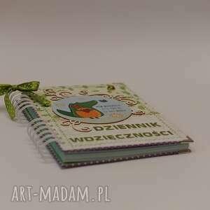 wyjątkowe scrapbooking notesy notes dziennik wdzięczności