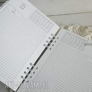 scrapbooking notesy kalendarz dla pracujących