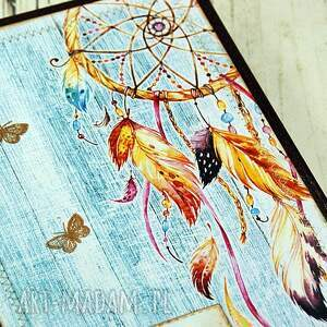 Shiraja turkusowe scrapbooking notesy kalendarz książkowy