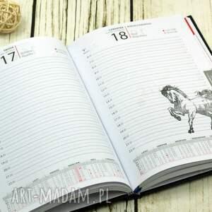 scrapbooking notesy klendarz kalendarz książkowy na rok 2019 ozdobiony