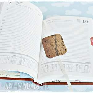handmade scrapbooking notesy kalendarz podróżnika - dzień na