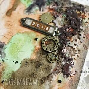 handmade scrapbooking notesy dla-mężczyzny mediowy kalendarz dla mężczyzny
