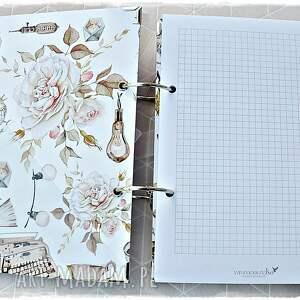 urokliwe scrapbooking notesy notatnik niekończący się