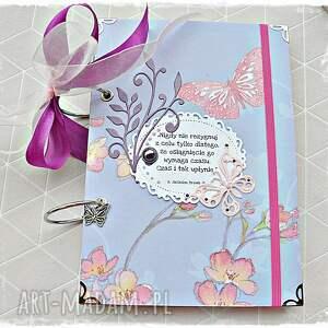 kolorowe scrapbooking notesy pamiętnik niekończący się