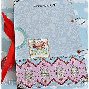 kolorowe scrapbooking notesy pamiętnik notatnik z imieniem