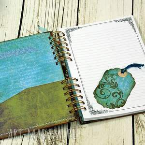 sekretnik scrapbooking notesy notatnik/pamiętnik - smoki