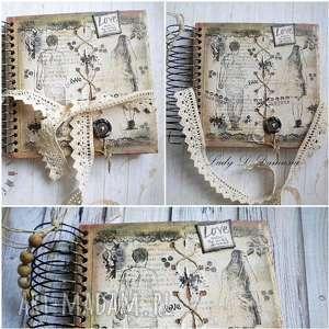 scrapbooking notesy notatnik notatnik/szkicownik/ just be my