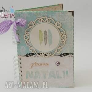 eleganckie scrapbooking notesy notes w drewnianym pudełku
