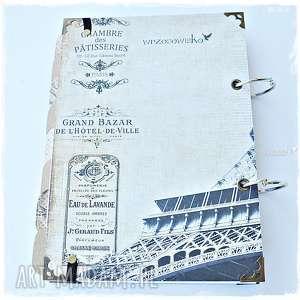 hand made scrapbooking notesy planner podróży pamiętnik, prezent