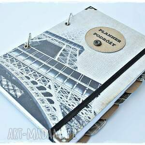 planner podróży scrapbooking notesy pamiętnik, prezent