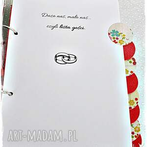 ślub scrapbooking notesy planer ślubny - 10 przekładek