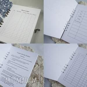 scrapbooking notesy notes planner ślubny - na zamówienie