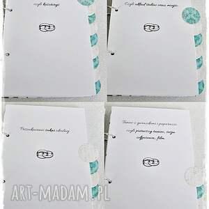 scrapbooking notesy wesele planner ślubny imienny - paryż