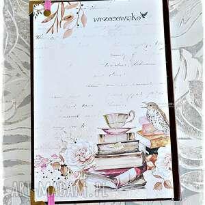 scrapbooking notesy kalendarz podróżuj, śnij, odkrywaj
