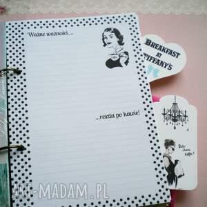 handmade scrapbooking notesy notes retro notatnik / ważne ważności...