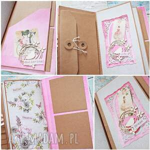 Cardmaking Dream Big scrapbooking notesy: Romantyczny notes