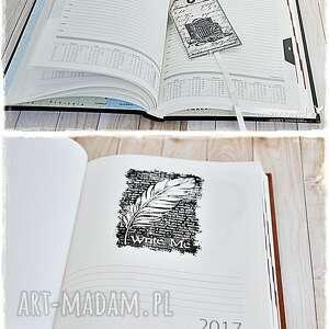 vintage scrapbooking notesy świat u twych stóp! kalendarz