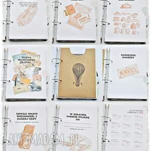 scrapbooking notesy podróże travel - planner podróży, planer