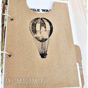 eleganckie scrapbooking notesy planner-podróży twój planner podróży / album