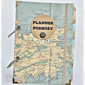 podróżnik scrapbooking notesy twój planner podróży / album