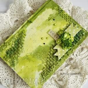 zielone scrapbooking notesy kalendarz zielony 2018