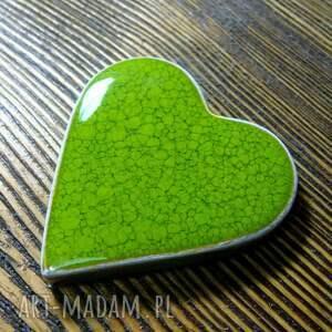 serduszka ślub ceramiczne magnesy - podziekowania