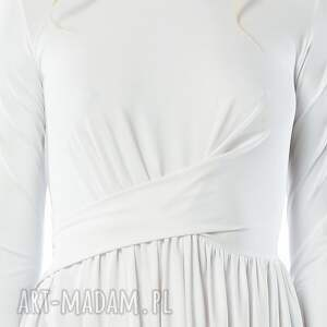 ślub ślubna cristina patria midi white