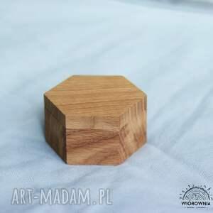 eleganckie ślub pudełko drewniane pudełeczko na obrączki -