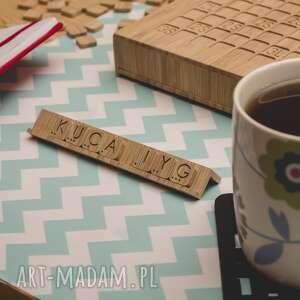 ślub gra logiczna - słowna z drewna