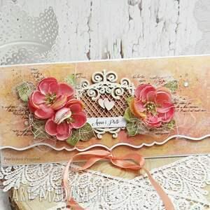 atrakcyjne ślub kartka na opakowanie
