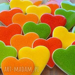 ślub podziękowania kolorowe serca