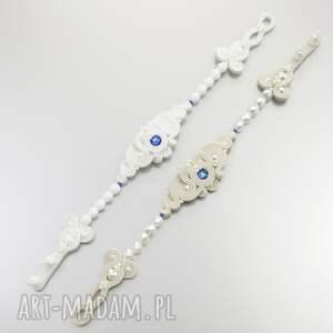 niebieskie ślub ślubny zamów podobny komplet wykonany