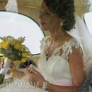 wyraziste ślub sutasz komplet ślubne marriage pearl