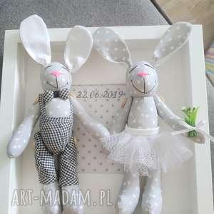 ślub króliki krœliki prezent para