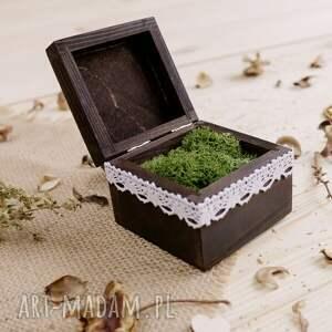 ślub małe pudełeczko na